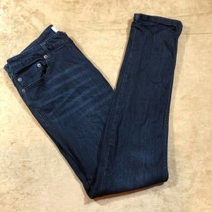 Kenneth Cole Reaction Dark Wash Skinny Jeans